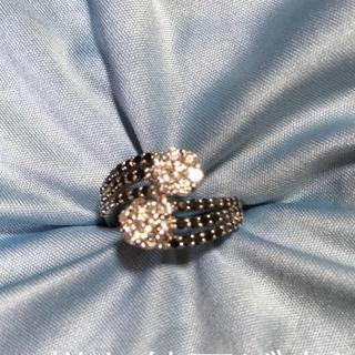 レアなブラックダイヤリング 1キャラ(リング(指輪))