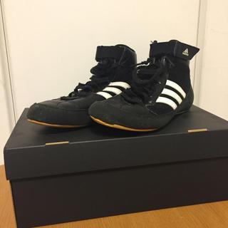 アディダス(adidas)のボクシングシューズ(ボクシング)
