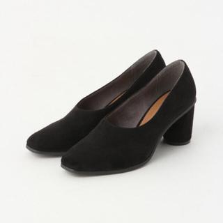 アパートバイローリーズ(apart by lowrys)のアパートバイローリーズ スクエアトゥブーティ 靴 24〜24.5 ブラック 38(ブーティ)
