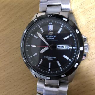 カシオ(CASIO)のカシオ エディフィスEFR-100SBBJ-1AJF 保証書付(腕時計(アナログ))