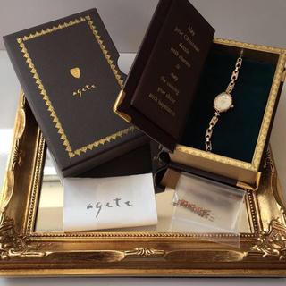 アガット(agete)のagete♡クリスマス限定ウォッチ腕時計(腕時計)