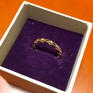 アガット(agete)のagete ダイアモンドピンキーリング(リング(指輪))