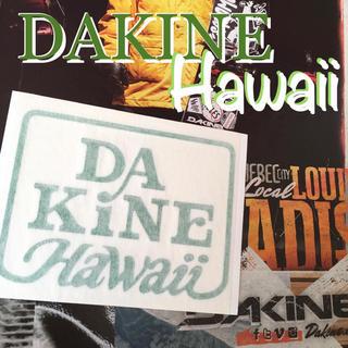 Dakine - DAKINEダカインhawaii限定型抜きダイカット ステッカー grnグリーン
