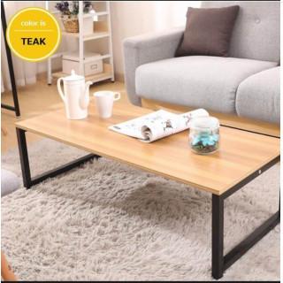 北欧風 幅100cm高さ31cm センターテーブル チーク(コーヒーテーブル/サイドテーブル)