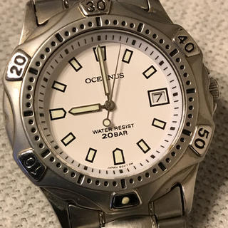 カシオ(CASIO)のCASIO  OCEANUS  ダイバー(腕時計(アナログ))