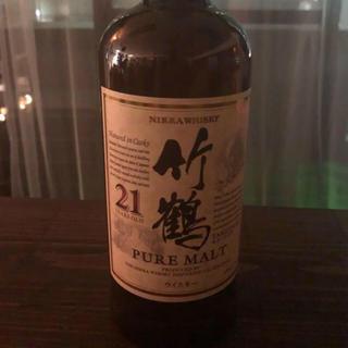 ニッカウイスキー(ニッカウヰスキー)のニッカウヰスキー 竹鶴21年700ml(ウイスキー)