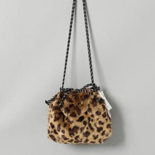 ジーナシス(JEANASIS)のジーナシス 今期大人気新品未使用 レオパードファーバッグ(ショルダーバッグ)