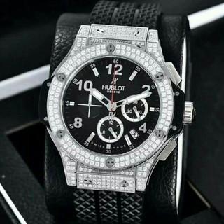 ウブロ(HUBLOT)のウブロ HUBLOT ビッグバン スティール ダイヤモンド  腕時計(腕時計(アナログ))