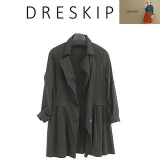 ドレスキップ(DRESKIP)の新品 未着用 M DRESKIP 春夏ジャケット ワールド 定価6900円(テーラードジャケット)