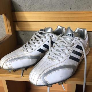 アディダス(adidas)のアディダス 金具スパイク 25.0㎝ (シューズ)