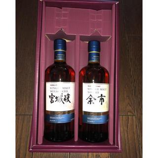 ニッカウイスキー(ニッカウヰスキー)の2018マンサニーリャウッドフィニッシュ2本セット(ウイスキー)