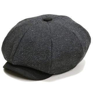 帽子 男女兼用 おしゃれ帽子 ハンチングキャスケットリーガンス グレー(ハンチング/ベレー帽)