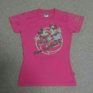 ミズノ(MIZUNO)の【極美品】MIZUNO  ディズニーTシャツ   ミッキー♡ミニー(バレーボール)