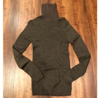 ムジルシリョウヒン(MUJI (無印良品))の専用 無印良品 リブ タートルニット(ニット/セーター)