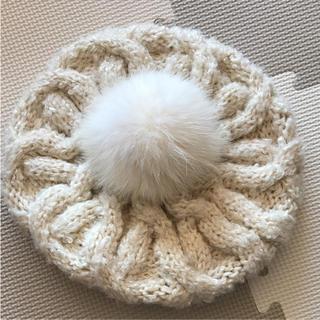 カシラ(CA4LA)のニット ベレー帽(ニット帽/ビーニー)