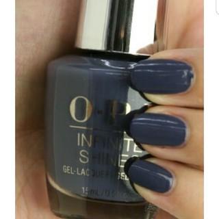 オーピーアイ(OPI)のOPI INFINITE SHINE2 ミニボトル 大人気色I59 ブルーグレー(マニキュア)