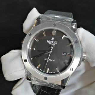 ウブロ(HUBLOT)のウブロ HUBLOT 腕時計 メンズ ビッグバン シルバー(腕時計(アナログ))