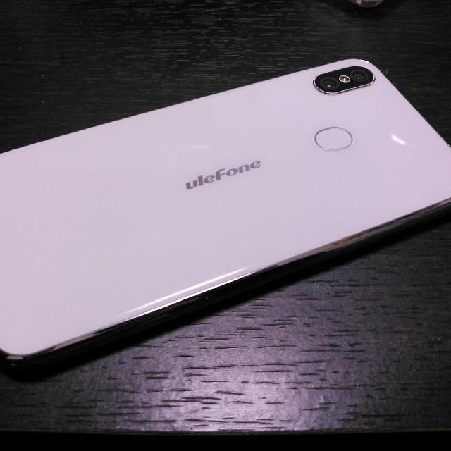 ジャンク品ulefoneX液晶不具合 スマホ/家電/カメラのスマートフォン/携帯電話(スマートフォン本体)の商品写真