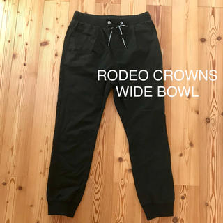 ロデオクラウンズワイドボウル(RODEO CROWNS WIDE BOWL)のゆうゆ様専用☆未使用 RCWB パンツ ジョガーパンツ メンズ XL BK(その他)