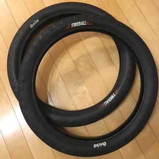 bmx Eclat Fireball Tire 2.4 2本セット 美品