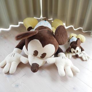 ディズニー(Disney)の新品 ミッキー抱き枕 大小セット(ぬいぐるみ/人形)