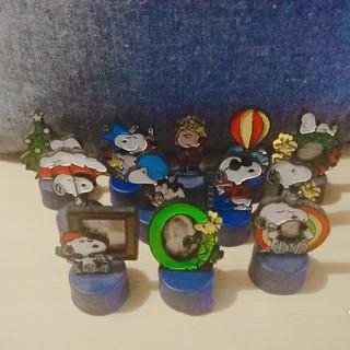 スヌーピー(SNOOPY)のスヌーピーペプシボトルキャップ12個(キャラクターグッズ)