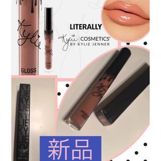 カイリーコスメティックス(Kylie Cosmetics)のKylie cosmetics LITERALLY リップ グロス(リップグロス)