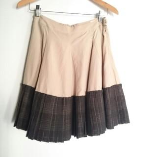 カロリナグレイサー(CAROLINA GLASER)のCAROLINA GLASER プリーツスカート(ひざ丈スカート)