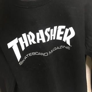 THRASHER 黒色 ロンT