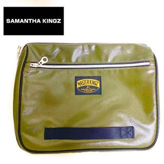 サマンサキングズ(Samantha Kingz)のSamantha Thavasa サマンサキングス カーキー クラッチバッグ(ボディーバッグ)