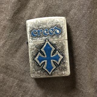 ジッポー(ZIPPO)の【美品】ZIPPO クロス Creed 2003年製造(タバコグッズ)