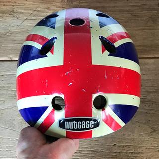 コドモビームス(こども ビームス)のナットケースXS ヘルメット(ヘルメット/シールド)