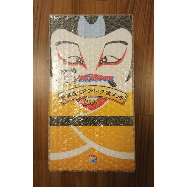 MEDICOM TOY(メディコムトイ)のベアブリック BE@RBRICK 歌舞伎 金メッキ 400% スカイツリー エンタメ/ホビーのフィギュア(その他)の商品写真