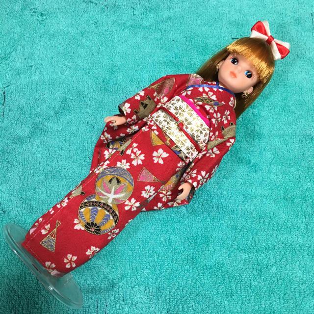 当時物 1985年 3代目リカちゃん タカラ日本製着物 キッズ/ベビー/マタニティのおもちゃ(ぬいぐるみ/人形)の商品写真