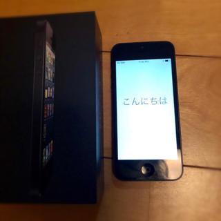 エーユー(au)のiPhone5 本体 au(スマートフォン本体)