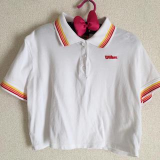 フォーエバートゥエンティーワン(FOREVER 21)のウィルソン コラボ ポロシャツ(ポロシャツ)