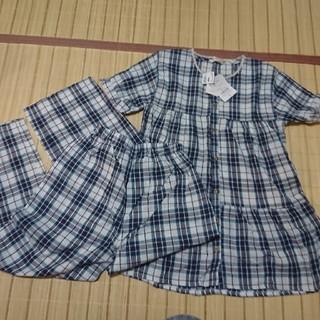 シマムラ(しまむら)のレディース パジャマ 半袖Mサイズ(パジャマ)