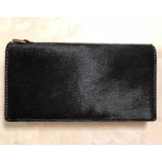 キャリー(CALEE)の【新品・未使用】calee ハラコ 長財布(長財布)