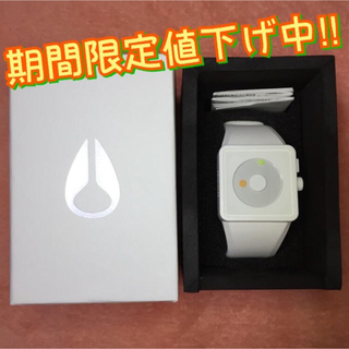 ニクソン(NIXON)のNIXON NEWTON: ALL WHITE/LUM NA1161254-00(腕時計)