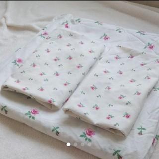 イケア(IKEA)のイケア掛け布団カバー、枕カバー2枚セット(シーツ/カバー)