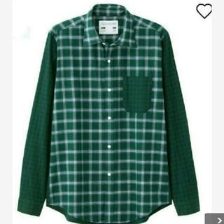 ジーユー(GU)のGUキムジョーンズコラボカラーブロックシャツ長袖(Tシャツ/カットソー(七分/長袖))