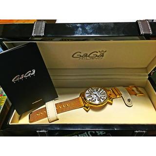 ガガミラノ(GaGa MILANO)のガガミラノ/GaGa Milano 腕時計 5081.WH.BH(腕時計(アナログ))