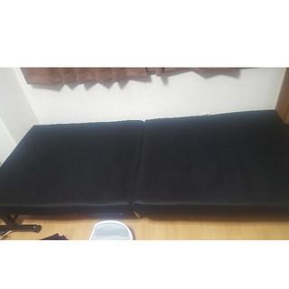 折り畳みシングルベッド(シングルベッド)
