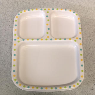 イオン(AEON)の可愛いプレート皿4枚セット(食器)