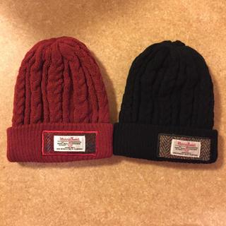 シマムラ(しまむら)のしまむら ハリスツイード ニット帽 2個セット(帽子)