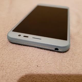 シャープ(SHARP)の白ロム 美品 AQUOS U SHV35(スマートフォン本体)
