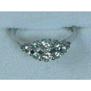 売り切り価格!天然ダイヤモンドプラチナリング(リング(指輪))