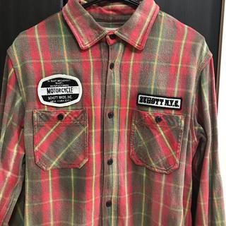 ショット(schott)のSCHOTT チェックシャツ(シャツ)
