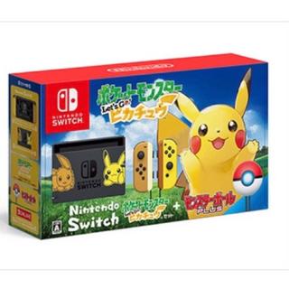 ニンテンドースイッチ(Nintendo Switch)のピカチュウ スイッチ ポケモン(家庭用ゲーム本体)