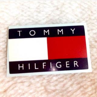 トミーヒルフィガー(TOMMY HILFIGER)のポイント消化‼️TOMMY HILFIGERステッカーシール 1枚(しおり/ステッカー)